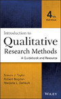 Introduction to Qualitative Research Methods - A Guidebook and Resource