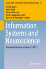 Information Systems and Neuroscience - Gmunden Retreat on NeuroIS 2015
