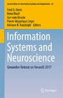 Information Systems and Neuroscience - Gmunden Retreat on NeuroIS 2017