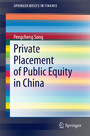 Private Placement of Public Equity in China
