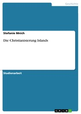 Die Christianisierung Islands